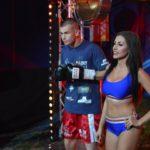 Gala w Kałuszynie Kewin Gruchała wyjście do ringu